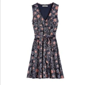 41Hawthorn Creswell Faux Wrap Floral Jersey Dress
